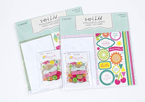 Making Large Card Kit - Card Making Kit Pack Bundle - Set of Two Kits with Complete Instructions to Make 16 Unique Handmade Cards