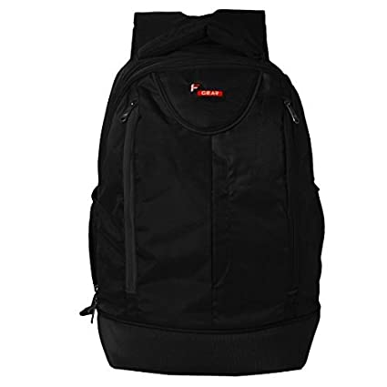84102aed2f F Gear Booster V2 43 Liters Laptop Backpack Sch Bag(Black): Amazon.in: Bags,  Wallets & Luggage