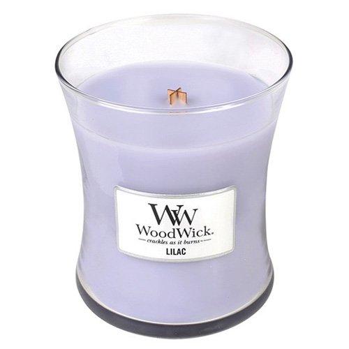WoodWick Lilac Pluswick Medium Hourglass Candle, 10