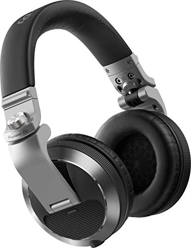 Pioneer HDJ-X7 Circumaural Diadema Plata – Auriculares (Circumaural, Diadema, Alámbrico, 5-30000 Hz, 1,2 m, Plata)