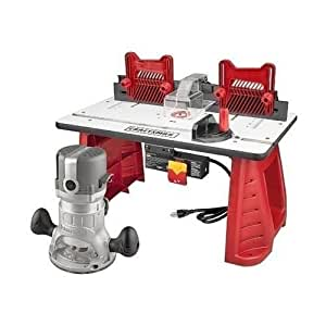 Craftsman Router Table Router Combo Portable Power Shaper Miter Gauge Woodwork ,,#id(sandy_savers_store~hee114361285473397