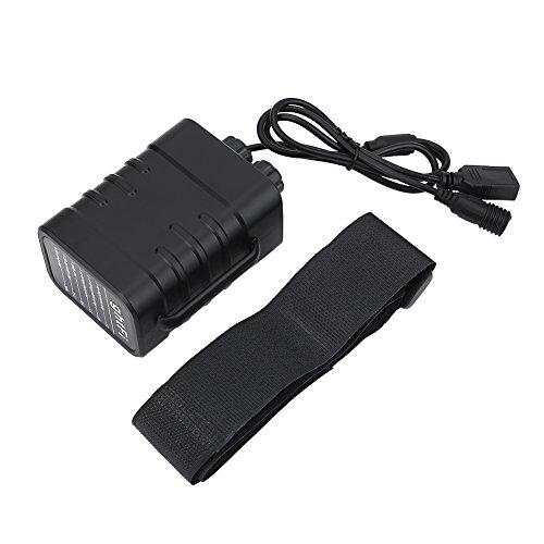 Tbest Cargador de batería 18650 2/4/6 bahía, Caja de batería Impermeable Universal Inteligente Paquete de Caja para...