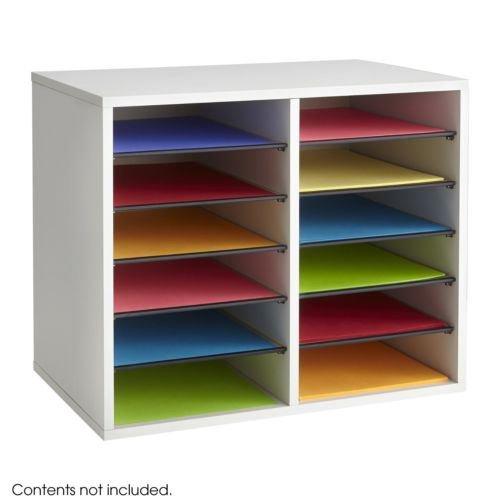 Office Desk Paper Sorter Shelves File Storage Organizer 1...
