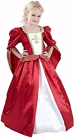 Vegaoo - Disfraz de Reina Medieval Elegante para niña - L 10-12 ...