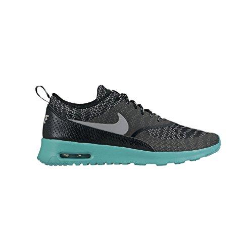 Nike Air Max Thea Jacquard Damen Sneakers black wolf grey light retro 002