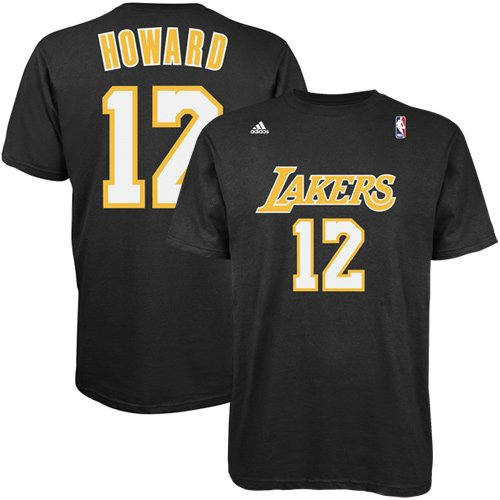 da1c299bb31 Dwight Howard Los Angeles Lakers Memorabilia at Amazon.com. Amazon.com. Dwight  Howard Los Angeles Lakers Black Jersey Name and Number T-shirt Small