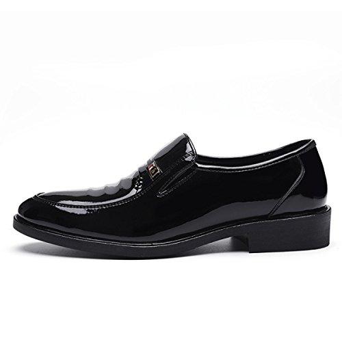 Automne Chaussures Et En Mode Printemps Cuir Affaires Hommes LYZGF Loisirs Black Messieurs pWIxA