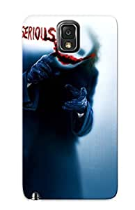 Durable Case For The Galaxy Note 3 - Eco-friendly Retail Packaging(joker - The Dark Knight ) by supermalls