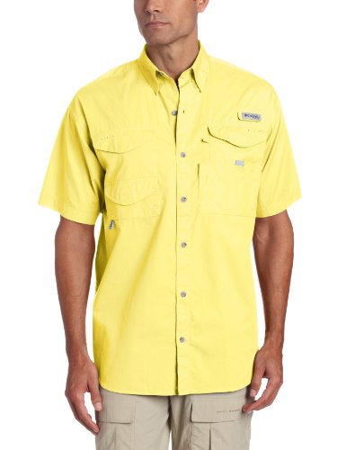 (Columbia Men's Bonehead Short Sleeve Shirt, Sunlit, 4X)