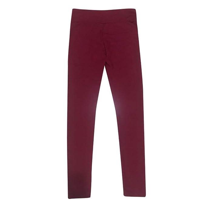 Zilosconcy Leggings Deporte Mujer, Pantalones de Yoga con Bolsillo ...