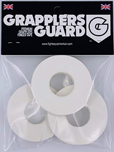Grapplers Guard BJJ Finger Tape Judo Grappling Tape MMA NO Gi Hand Tape Pack of 5 IBJJF Legal