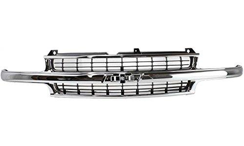 99 silverado grille - 7