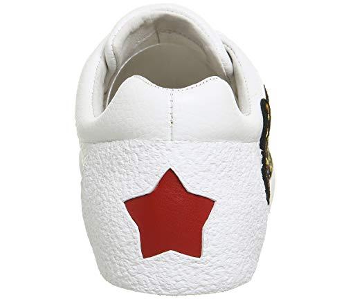 en Niagara Ash Baskets Femme Blanc Chaussures Cuir Z8A60nA