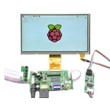 Touch Screen Module - Lcd Screen Module - Raspberry Pi 7 inch HD 1024 600 Touch Screen Module Kit (Screen Module) ()