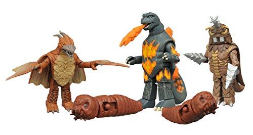 Diamond Select Toys Godzilla Classic Minimates Series 3 Box Set