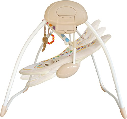 Bebe Style Rocker Cradling Musical Baby Swing