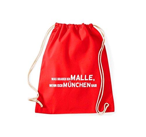 Turn Bolsa; Rompa Was Ich Malle, Si isch München hab., rosa, 46 rojo