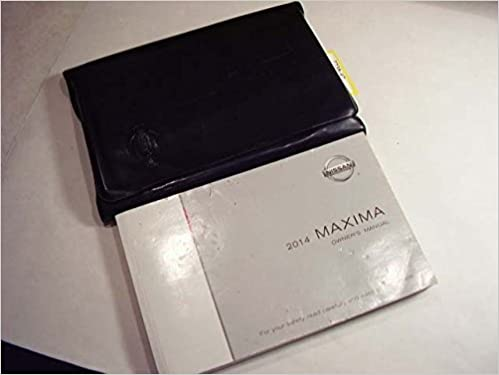 Amazon 2014 nissan maxima owners manual nissan books fandeluxe Choice Image