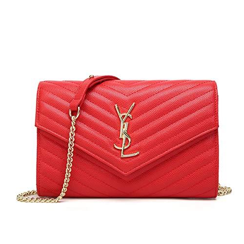 Negro Cm pattern Bebés Stereo De Bags Fashion Capacidad 6 2019 Para One Gran Red 24 Crossbody Shoulder Mujeres Pañales 16 Piel V Bolsa q1OxRw0x