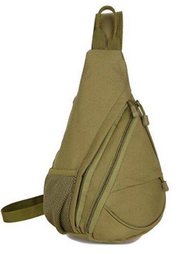 HWB/ 5 L Gurttaschen & Messenger Bags Camping & Wandern Draußen Wasserdicht Grün Nylon