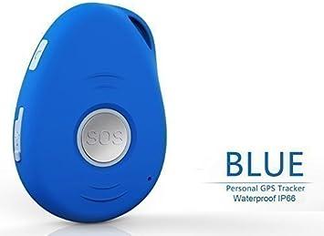 visiononegps Personal GPS Tracker (T-Mobile requiere tarjeta SIM 2 G) – tiempo real de seguimiento, alarma,