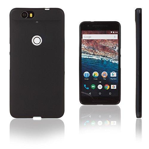 Xcessor Vapour Funda Carcasa de TPU Gel Flexible para Huawei Nexus 6P. Negro