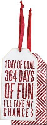 Set of 6 - Bottle Tag - ''364 Days''