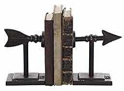Arrow Bookends Set Of 2, SET OF 2, BROWN