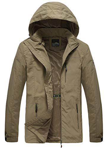 Order a Size Up Mens Hooded Lightweight Windbreaker Jacket Softshell Fall Jacket