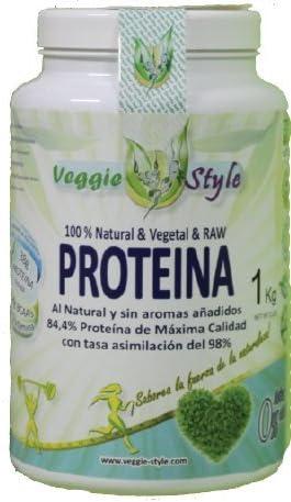 Proteína Vegana Natural Vegetal Raw sin aromas añadidos 1Kg