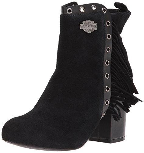 Work Harley KEDISON Boot Women's Davidson Black q4Yrx4tS