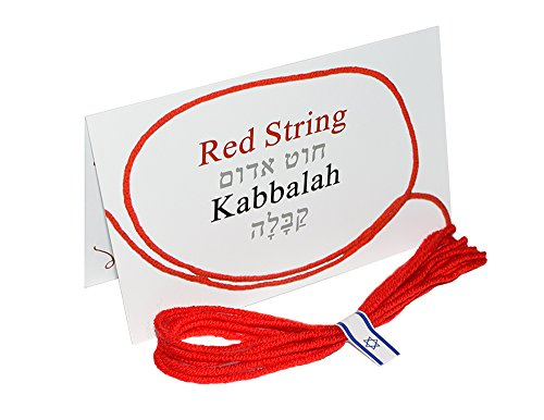 7 pcs Red String Bracelet - Original Kabbalah Against Evil Eye Protection from Rachel's Tomb in Israel + Ben Porat Prayer + certificate of blessing + wearing instruction