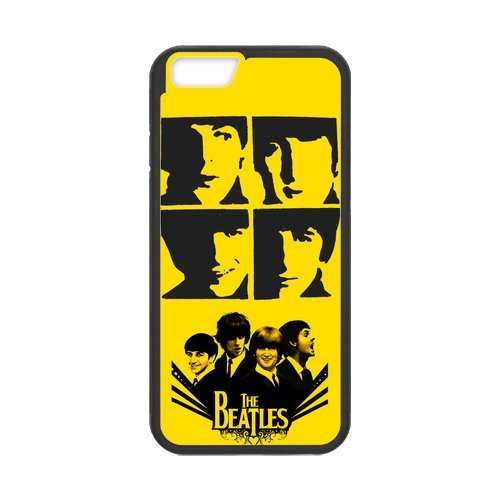 "Fayruz - iPhone 6 Rubber Cases, The Beatles Hard Phone Cover for iPhone 6 4.7"" F-i5G293"