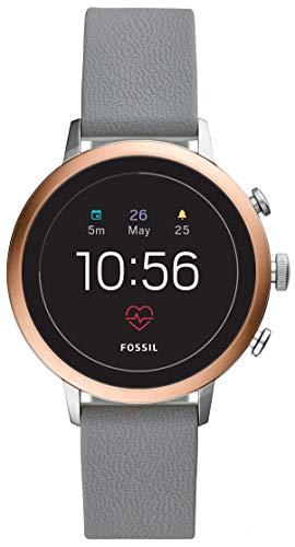 Fossil Gen 4 Smartwatch - Venture HR 40mm Gray Silicone
