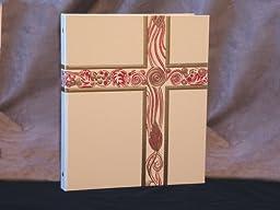 Ceremonial Binder - Ivory with Gold Foil (1# Spine)