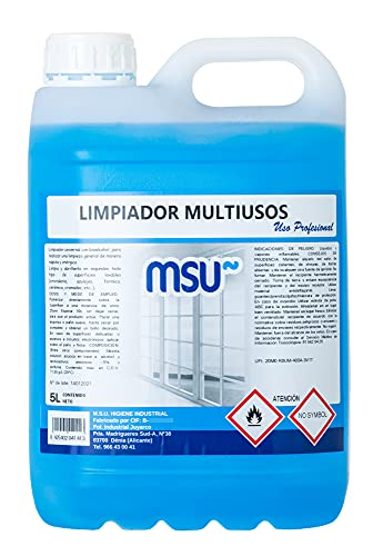 MSU – MSU multifunctionele reiniger, verpakking van 5 liter.