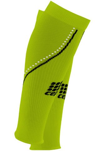 Sport Neon Night Sleeves (CEP Women's Neon Night Allsports Compression Calf Sleeve - WS40N0 (Neon/Night - III (12.5