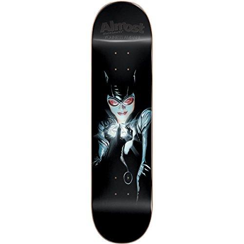 Womens Skateboard Deck - Almost Catwoman Impact Light Skateboard Decks,8.0