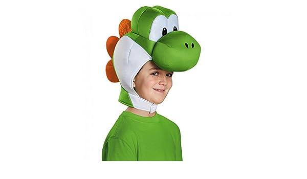 MyPartyShirt Yoshi Niño del Casco de Super Mario Bros. de ...