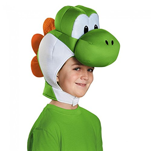 Mario Brothers Headpiece Costume Accessory (Mario Bros Bowser Costume)