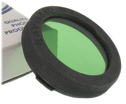 NEW Green Filter with Bay 1 mount for Rollei, Yashica TLR cameras