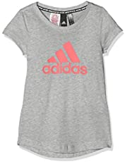 adidas Mädchen Must Haves Badge of Sport T-Shirt