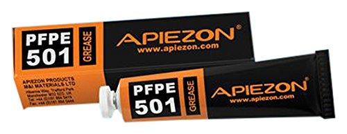 Apiezon PFPE501-00100 PFPE High Temp and Inert Lubricating Vacuum Grease, 100g Tube ()
