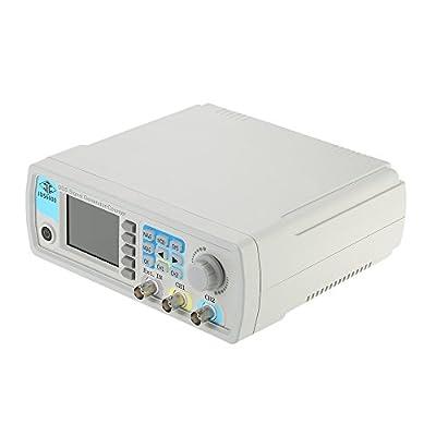 Baugger Signal Generator,Digital Dual-channel DDS Signal Generator Arbitrary Waveform Pulse 1Hz-100MHz Frequency Meter 200MSa/s 30MHz