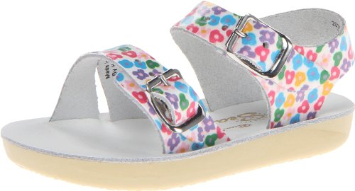 Salt Water Sandals by Hoy Shoe Sea Wee,Floral,1 M US Infant ()