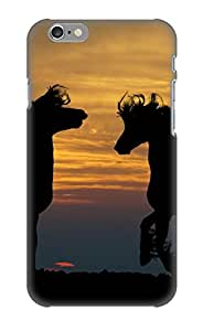 Chistmas' Gift - Cute Appearance Cover/tpu Lbavpz-4540-oztwzbk Horses Case For Iphone 6