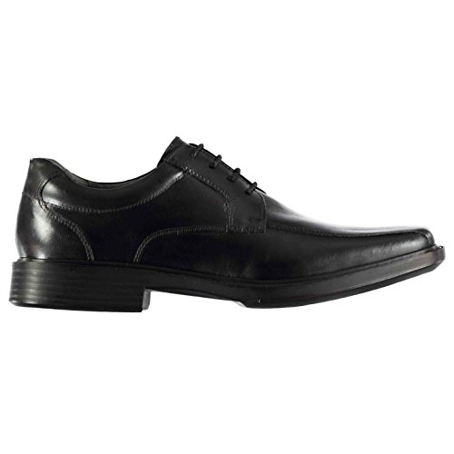 Kangol Kids Boys Castor Lace Shoes Junior Derby Up Padded Ankle Collar Small Black UK 6.5 - Kangol Uk