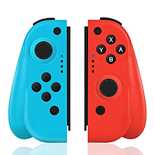 TUTUO Wireless Joy-Con Controller for Nintendo Switch, Replacement Joystick for Joy Con Bluetooth Gamepad Joypad Joystick Compatible with Nintendo Switch Pro