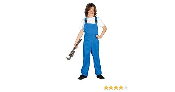 Guirca- Disfraz mono de trabajo, Talla 5-6 años (85843.0): Amazon ...