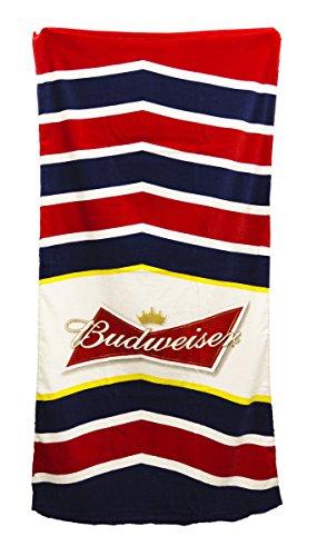 anheuser-busch-budweiser-chevron-beach-towel-30-by-60
